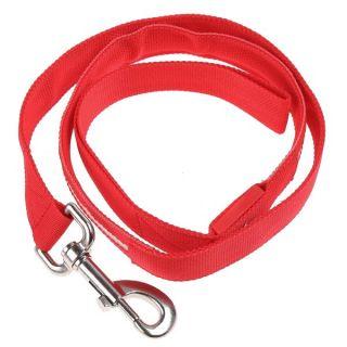 LED Leash Lead Dog Pet Rope Belt Flashing Light Harness Safety Glow Red