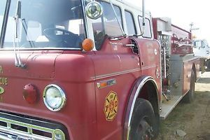 1976 Ford 8000 3208 Non Turbo Cat Engine
