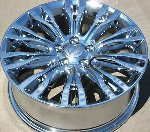 "Exchange Your Stock 4 18"" Factory Chrysler 200 Limited 300M Chrome Wheels Rims"