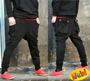 New Men's Casual Baggy Harem Hip Hop Dance sweat Sport Pants Trousers Slacks Hot