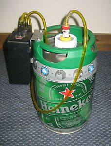 RC Fuel Tank Gas Can with Electric Pump for Gas Engines