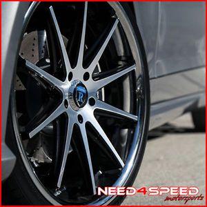 "20"" Acura RL Rohana RC10 Machined Concave Wheels Rims"