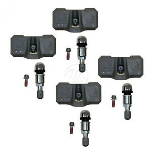 Chevy GMC Truck Tire Pressure Sensor Monitoring System TPMS 4 Piece Set Kit