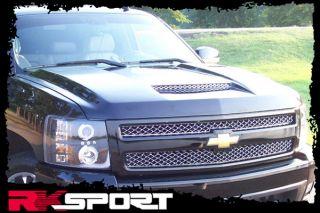 New Rksport Chevy Silverado RAM Air Hood Only Fiberglass Truck Body Kit 29013000