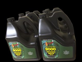 Schaeffer's 5W 40 9000 Supreme Full Synthetic Diesel Motor Oil 1 Gallon