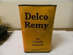 SEALED Box Delco 6 Volt Voltage Regulator GM 1118303 D603 1949 52 GMC Truck