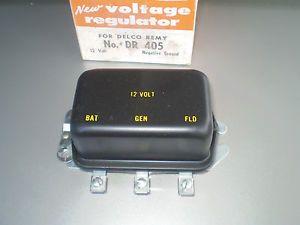 1955 56 57 Chevy Voltage Regulator in Box Dr 405 Delco Remy