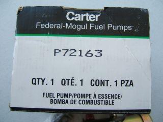 Carter P72163 Fuel Pump Nissan Datsun 620 720 Truck Transitor Style