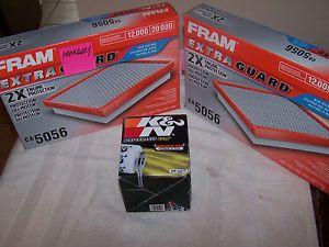 Fram Extra Guard CA 5056 Air Filter K N HP 2010 Oil Filter