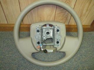 06 11 Ford Crown Victoria Camel Tan Steering Wheel w O Cruise
