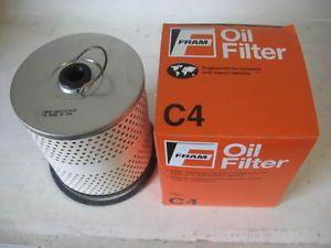 Many Car Truck Tractor Fram C4 C 4 Oil Filter