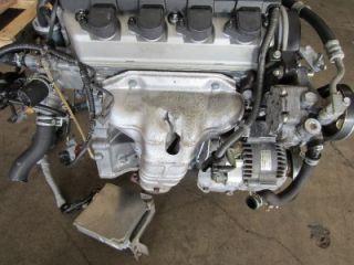 JDM 01 05 Honda Civic D17A Engine SOHC 1 7L vtec Motor D17 EM2 EX LX D17A2