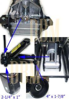 "3 5 Ton Low Profile Floor Jack Lift 3 3 4"" to 23"" Garage Car Truck 7000 lbs Cap"