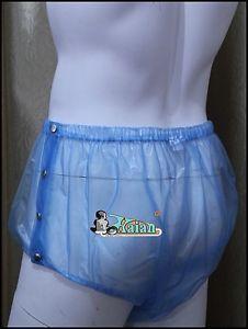Adult Baby Plastic Pants PVC Incontinence P004 6T Size x Large