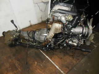 Isuzu Trooper 4JG2 Turbo Diesel Engine 3 1L Bighorn 4JG2 Engine Automatic Trans
