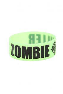 Zombie Killer Glow In The Dark Rubber Bracelet