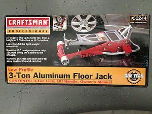 ... New Craftsman Low Profile 3 Ton Aluminum Floor Jack Model 50244 ...