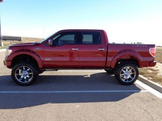 Ford F 150 Limited Lifted 4x4 Navigation Sun Roof Hard Loaded