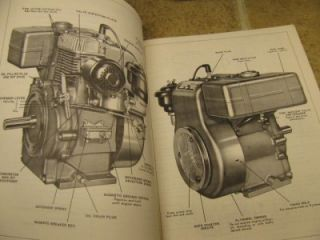 Wisconsin S7D Engine Instruction Book Parts List Manual Book