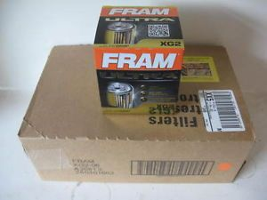 Fram XG2 Ultra Guard Synthetic Oil Filter Case 6 Six