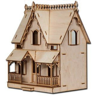 "Half Scale Arthur Laser Cut Dollhouse Kit 1 2"" Scale"
