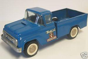 1950 60's Buddy L Kennels Truck