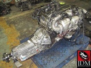 Toyota Aristo Supra Twin Turbo Engine Transmission Wiring ECU JDM 2JZGTE 2jz