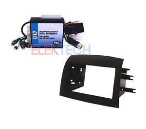 Toyota Sienna Radio Install Mount Kit Double DIN Replacement Interface