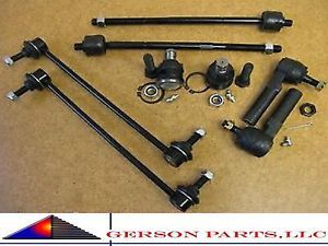 Inner Outer Tie Rod End Ball Joint Sway Bar Links Ford Taurus Mercury Sable New