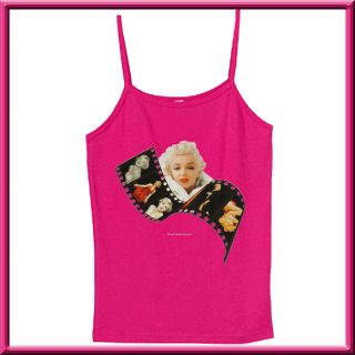 Marilyn Monroe Filmstrip Photo Womens Shirts s XL 2X 3X