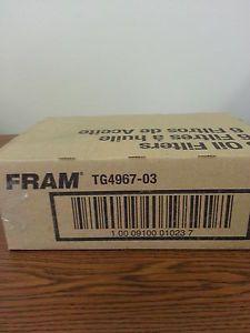 Lot of 6 Fram Tough Guard TG4967 Oil Filters