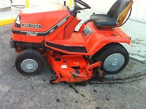 "Kubota G1800 54"" Riding Mower Lawn Tractor 16HP Kubota Diesel Engine"