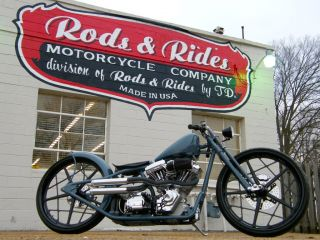 Custom Built Motorcycles Bobber