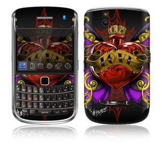 WL3 Blackberry Bold Decal Skin Sticker Cover Traditional Tattoo 3