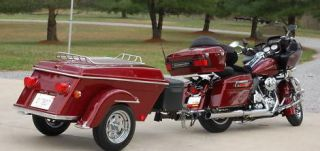 2014 Legacy Motorcycle Trailer Pull Tow Cargo Behind Harley Bikes Trikes