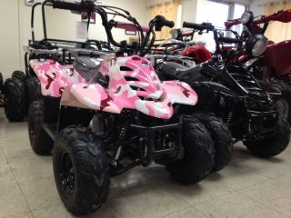 High End ATV Sporty 110cc ATV Fully Automatic Off Road Quad 4 Stroke ATV 110 CC