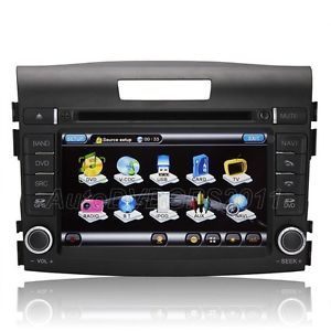 Autoradio DVD GPS Navigation Fit for Honda CRV 2012 with iPod RDS Bluetooth