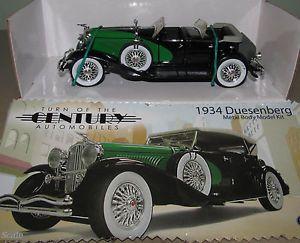 Testors 1 32 Scale Kit Built 1934 Duesenberg 4 Door Diecast Model Vintage Car