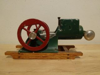 RARE Irvin Creston Toy Hit Miss Stationary Engine Fairbanks Morse