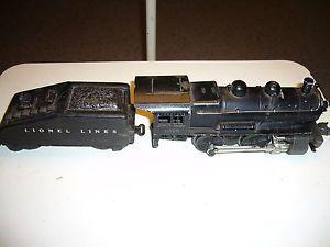 Lionel 1615 0 4 0 Switcher Engine Steam Locomotive Tender O Model Train O27