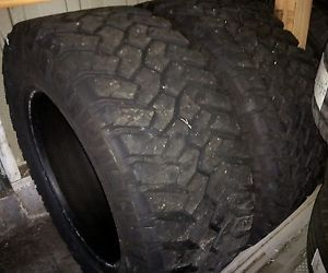 2 35x12 50R20 Nitto Trail Grapplers 35x12 50x20 35 inch 20 Tires M T Mud Toyo MT