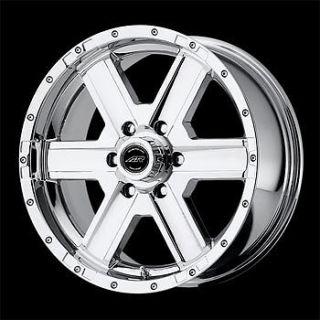 4 New 17x8 6 135 American Racing Element Chrome Wheels Rims Ford F150 Truck