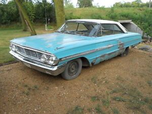1964 Ford Galaxie 500 2 Door Hard Top Parts Car or Project