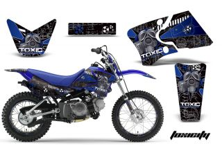 AMR Racing Motocross Background Sticker Wrap MX Deco Kit Yamaha TTR 90 00 07 Tu