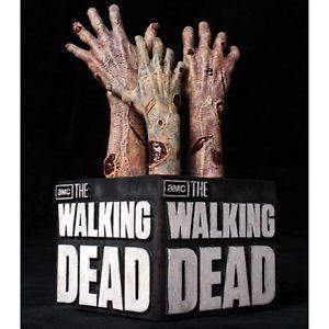 AMC The Walking Dead Logo Zombie Bookends by Gentle Giant