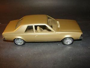 Vintage 1970 AMC Hornet 2 Door Dealer Promo Model Car