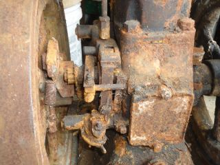RARE Whitman Agricultural Co Sultan Engine 2 HP Original Cond Hit Miss Vert