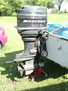 1965 65 HP Mercury Outboard Boat Motor Engine Short Shaft not Running