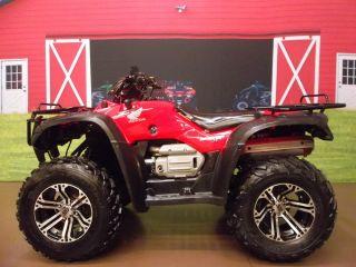 """2007 Honda Rancher 400 4x4 at """"Auto Transmission"""" ES """"Electric Shift"""" ITP Rim"""