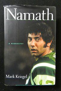 Joe Namath A Biography by Mark Kriegel 2004 Hardcover Book 0670033294